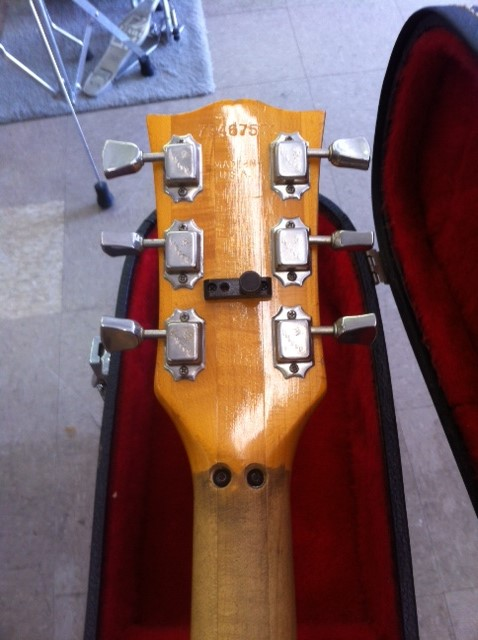 Gibson LP head stock new