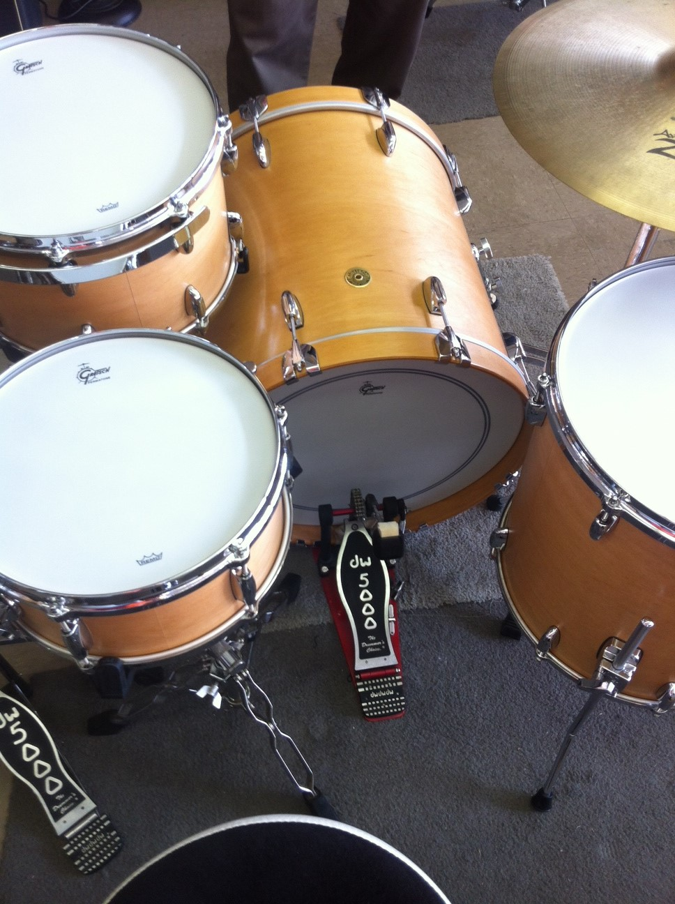 Gretsch USA Custom kit back