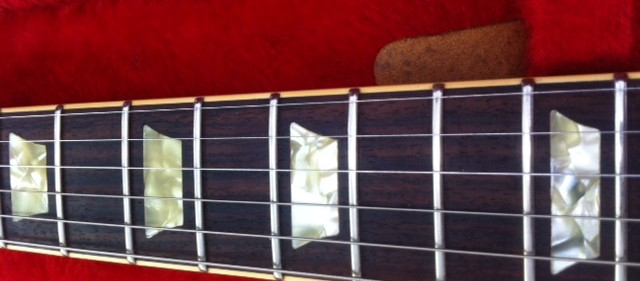 new Gibson frets