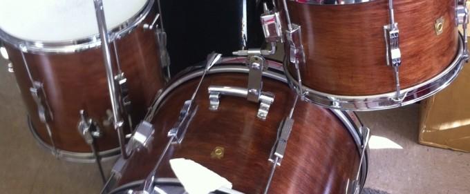 1967 Vintage Ludwig Club date drum set